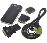USB 2.0 adaptador de audio de múltiples pantallas con DVI / HDMI / VGA / AUDIO (1920 * 1080 máximo)