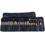 32 pcs pincel de maquiagem definir delineador de lábios Lápis cosmético compo o jogo