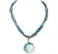 Böhmen Kurze Halskette Europa Amerika hängende Halsketten