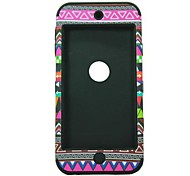 3-in-1 Design Nationality Pattern Protective Hard Case for iPod touch 5