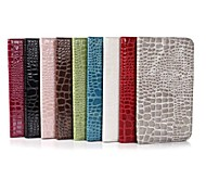 Luxury Alligator Pattern Wallet Case Wallet Leather Case for Samsung Tab 3 Lite T110