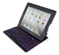 Seven-color Backlight Bluetooth Keyboard for iPad 4/3/2