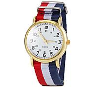 Women's Simple Round Dial Strip Fabric Band Quartz Wrist Watch (Assorted Colors) Cool Watches Unique Watches