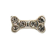 20PCS Fashion Alloy Bone Floating Charms For Memory Living Locket(82 PCS Per Package)