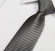 Soild Colore Stripe formale cravatta Wedding dell'uomo