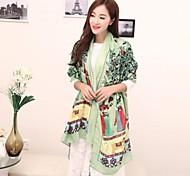 elementos bastante china de las mujeres imprimen viscosa bufanda larga