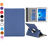 360 Degree Rotation Leather Protective Cover for Samsung Galaxy Note 10.1 2014 Edition(Assorted Colors)