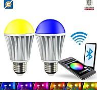 27 7W 5x5050-1.5SMD R 45-75LM G 100-150 LM B:20-50LM W 400-550LM Cool RGBW LED Spot Bulb (AC 220V)