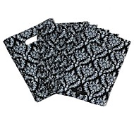 Simple Design Black Flame Ring Pattern Environmental Bag (45pcs)