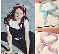 Sweet bowknot   Headbands For Women(Purple,Pink,Blue,Black)(1 Pc)