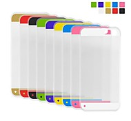 Angibabe High Transparent 0.3mm Ultra Slim Dual Candy Soft TPU Gel Jelly Back cover for iPhone 5/5S