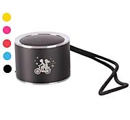 Fashion Cylinder Digital Mini Speaker  (Assorted Colors)