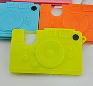 Creative Camera Shaped Plastic Credit Card Holders(Random Colorx1pcs)