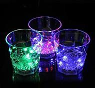 coway o bar dedicado emissor de luz noturna levou vidro octagonal