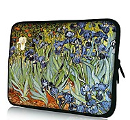Elonno Beautiful Flowers Neoprene Laptop Sleeve Case Bag Pouch Cover for 10'' Dell HP iPad1/2/3/4/5