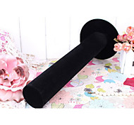 Classic High Quality Hairpin Buggy Bag Black Paper Flannelette Jewelry Displays(1 Pc)