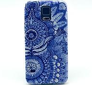 Für Samsung Galaxy Hülle Muster Hülle Rückseitenabdeckung Hülle Mandala PC Samsung S5