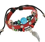 New Beaded Leather Bracelet