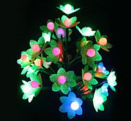 Novelty Flower Shape Plastic Table Lamp