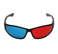 le-visión generales gafas 3d azules rojos para ordenador televisión móvil