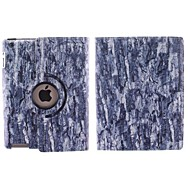 The Old Tree Pattern 360 Degree Rotating PU Leather Case with Stand for iPad 2/3/4