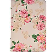 fleur rose cas de modèle pour l'ipad mini-3, Mini iPad 2, ipad mini-
