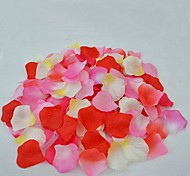 Multi-Color The Wedding Festival Of Lovers Courtship Rose Petals(Set of 5 Packs)