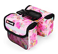 KUTOOK 600D 210D Polyester and EVA Pink Bicycle Frame Bag