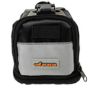 ACACIA 1680D Gray Extensible Bike Saddle Bag