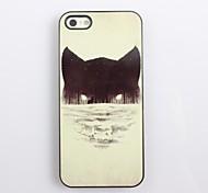 Lupo nella Notte Hard Case design in alluminio per iPhone 4/4S