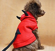 Q-Base™ Cute Devil Dog Coat Dog Clothes Pet Apparel