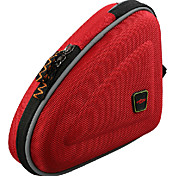 MZYRH Red Bicycle Bike Bag Front Tube Triangle Frame Bag