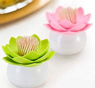 Lotus Shape Toothpick Box