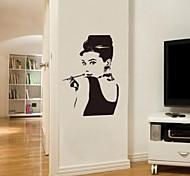 JiuBai™ Audrey Hepburn Wall Sticker Wall Decal