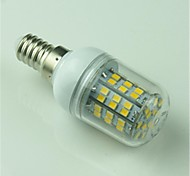 5W E14 Bombillas LED de Mazorca T 60 SMD 2835 500 lm Blanco Cálido Decorativa AC 100-240 V