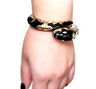 Black Set Auger Snake-shaped Armband Retro Fashion and Personality