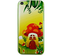 The Beauty of The Mushroom House Pattern PC Back Case for iPhone 5C