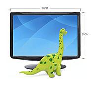 Ação Rubber Brachiosaurus Dinosaur Modelo Toy Figuras (verde)
