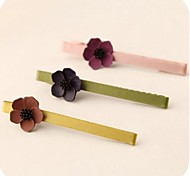 Korean Lady Flowers Duckbill Clip Kid's Hairpins
