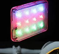 ACACIA Colorful 12 LED Luces traseras para bicicletas