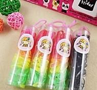 (1 box) semplici forti fasce per capelli elastici pratiche nei bambini