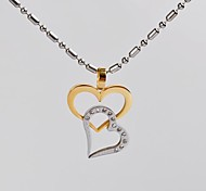Silver Pendant Necklaces Daily / Casual Jewelry