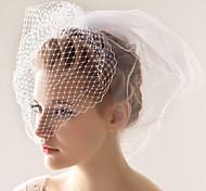 Veli da sposa 2 strati Veletta 10-20cm Tulle Bianco Adatto a tutti gli stili