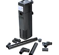 Equipos de filtración de polietileno de ultra silencioso 3-en-1 bomba de aire filtro interno (3w, 200l / h)