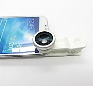 Clip-On de 180 grados Lente Ojo de Pez para iPhone, iPad y Otros Celular