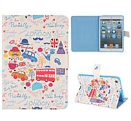 Cartoon Paiting Of London Case for iPad mini 3, iPad mini 2, iPad mini