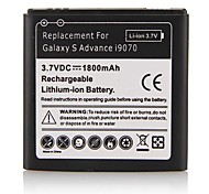 1800mAh Lithium-ion Battery for Samsung I9070