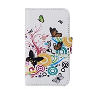 PU Leather Butterfly Pattern Case for Nokia X