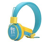 Yongle ep-15 ouvido de 3,5 mm ao longo do ouvido estéreo clássico com microfone para telefones