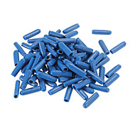 Jiahui Plastic + Brass Female Wire Cable Terminals - Deep Blue (50 PCS)